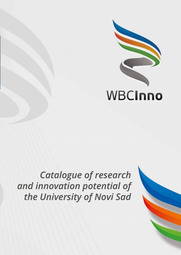 Catalogue of Research and Innovation potential of the University of Novi Sad