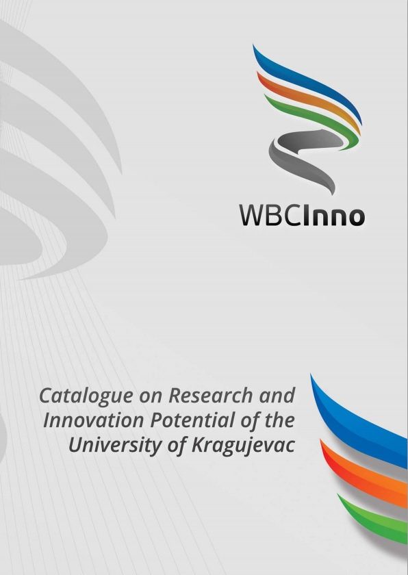 Catalogue on Research and Innovation potential of the University of Kragujevac